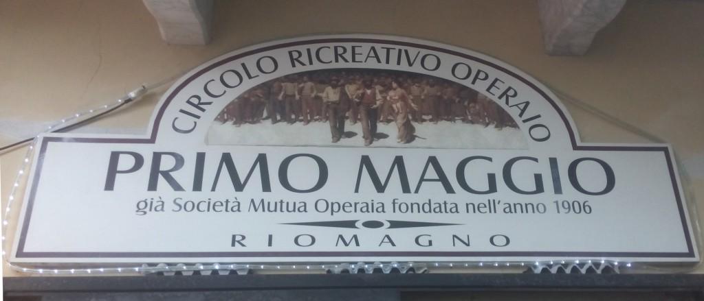 CRO 1° Maggio a Riomagno