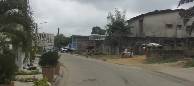 Arrivo ad Abidjan