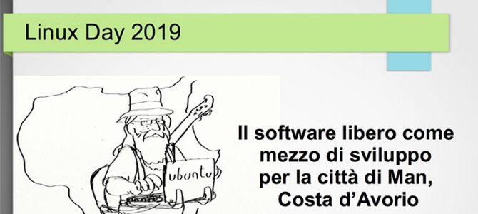 Linux Day 2019 – un talk sulla mia esperienza in Africa